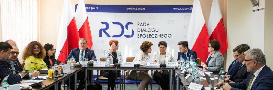 Rada Dialogu Społecznego po nowemu